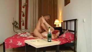 Romantic Couple Sex With Lotions
